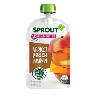 Sprout Apricot Peach Pumpkin Organic Baby Food