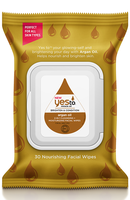 Yes To Miracle Oil Argan Oil 2 In 1 Cleansing Moisturizing Facial Wipes