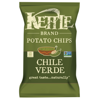 KETTLE BRAND® Potato Chips Chile Verde