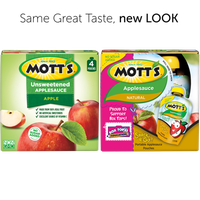 Mott's Applesauce Pouches