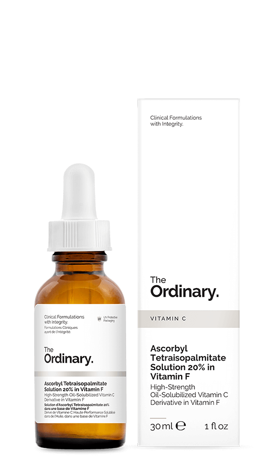 The Ordinary. Ascorbyl Tetraisopalmitate Solution 20% in Vitamin F