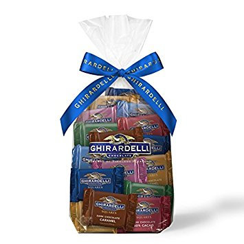Ghirardelli Assorted Chocolate Squares Gift Bag
