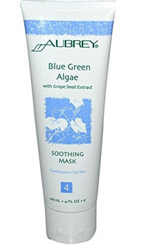 Aubrey Organics Blue Green Algae With Grape Seed Extract Soothing Mask