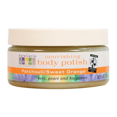 Aura Cacia Fair Trade Certified Patchouli & Sweet Orange Body Polish