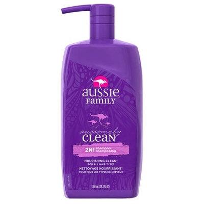 Aussie Aussomely Clean 2 in 1 Shampoo