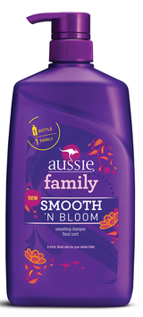 Aussie Family Smooth 'N Bloom Shampoo