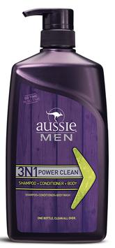 Aussie Men Power Clean 3n1