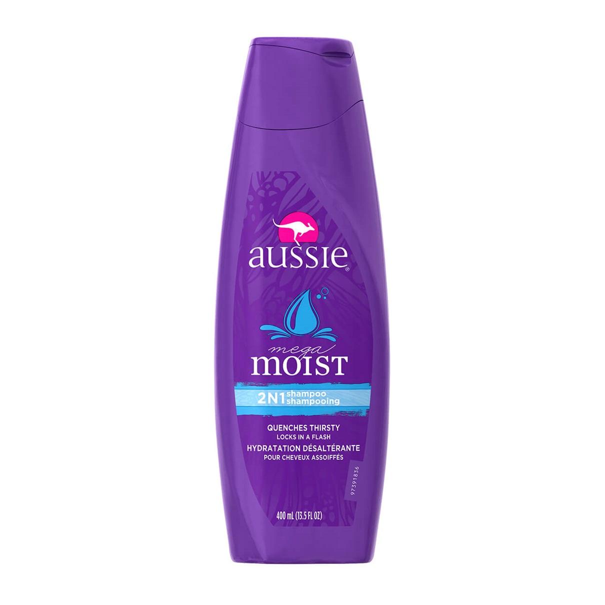Aussie®  Mega Moist 2-in-1 Shampoo + Conditioner