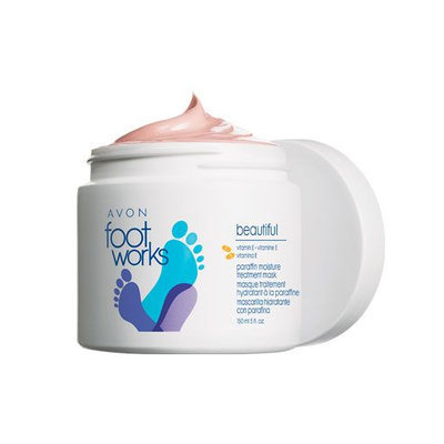 Avon Foot Works Beautiful Paraffin Moisture Treatment Mask