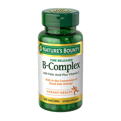 NATURE'S BOUNTY® B-Complex Tablets