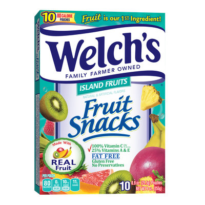 Welch's® Fruit Snacks Island Fruits