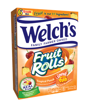 Welch's® Fruit Rolls Tropical Punch