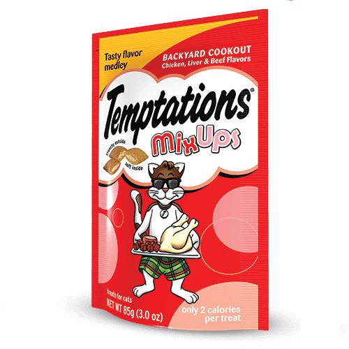 TEMPTATIONS™ MixUps Treats For Cats Backyard Cookout Cat Treats