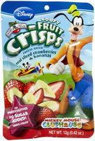 Brothers All Natural Brothers-ALL-Natural Goofy Crisps, Strawberry/Banana, 0.42, 12 ct