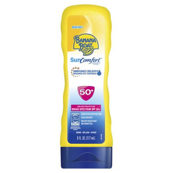 Banana Boat SunComfort Lotion Sunscreen With SPF 50