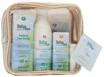 BabySpa Stage 1 TLC Skin Care Gift Set Fresh Baby Scent for Newborns Through Crawlers