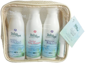 BabySpa Stage 1 Splish Splash Set Fresh Baby Scent for Newborns Through Crawlers