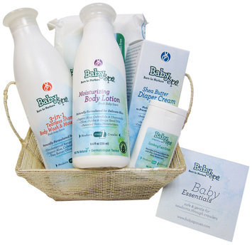 BabySpa Stage 1 Baby Essential Starter Kit Fresh Baby Scent for Newborns Through Crawlers