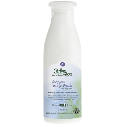 BabySpa Soapless Baby Body Wash - Stage One - 8.4 oz, Fresh Baby Scent - 1 ct.