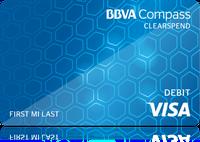 BBVA Compass ClearSpend Prepaid Visa Card