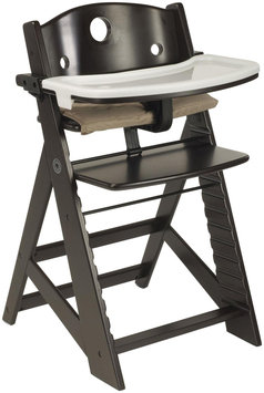 Keekaroo Height Right Highchair with Tray - Espresso Base - 1 ct.
