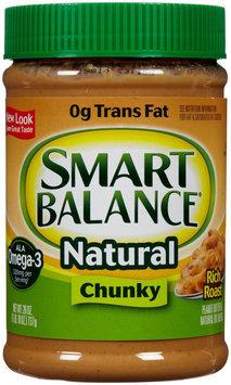 Smart Balance Natural Peanut Butter Rich Roast Chunky 26 oz - Vegan