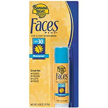 Banana Boat Faces Plus Sunscreen Stick With SPF 30