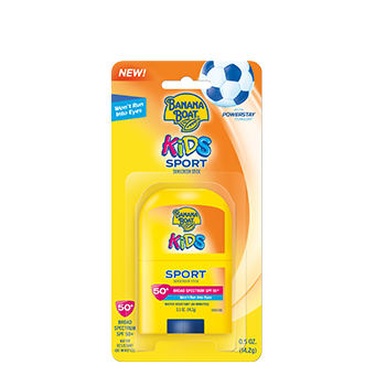 Banana Boat Kids Sport Sunscreen Stick With PowerStay Technology