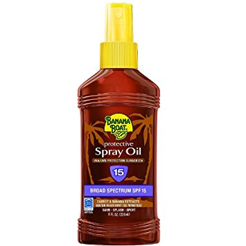 Banana Boat Protective Spray Oil With SPF 15