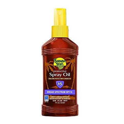 Banana Boat Protective Spray Oil With SPF 15