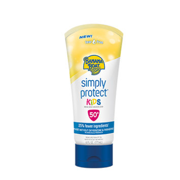 Banana Boat Simply Protect Kids Sunscreen Lotion With SPF 50+