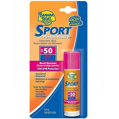 Banana Boat Sport Performance Sunscreen Stick With SPF 50