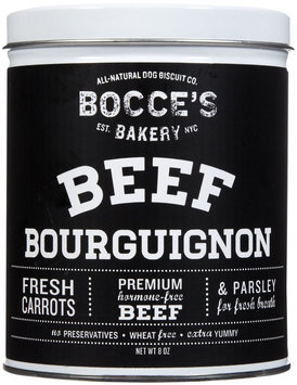 Bocce's Bakery Beef Bourguignon Biscuit Tin - 8oz