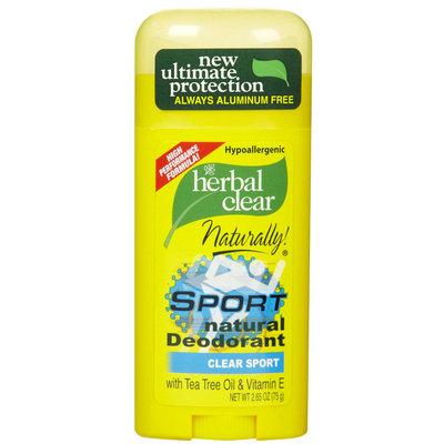 Herbal Clear Deodorant Stick, Sport 2.65 oz