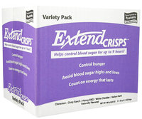 ExtendSnacks ExtendCrisps Appetite & Blood Sugar Mgt Snacks 5 Pk