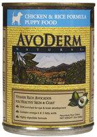 Avoderm Natural Puppy Food - 12 x 13 oz