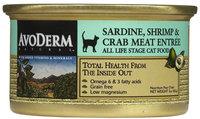 AvoDerm Natural Sardine, Shrimp & Crab Entree in Gravy - 24x3 oz