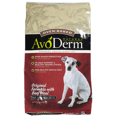 Avoderm Natural Baked Dog Food - Original