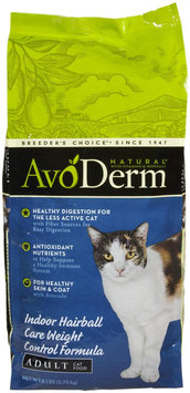 AvoDerm Natural Indoor Weight Control & Hairball Relief