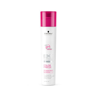 Schwarzkopf Professional Bonacure BC COLOR FREEZE Sulfate-Free Shampoo for Color-Treated Hair
