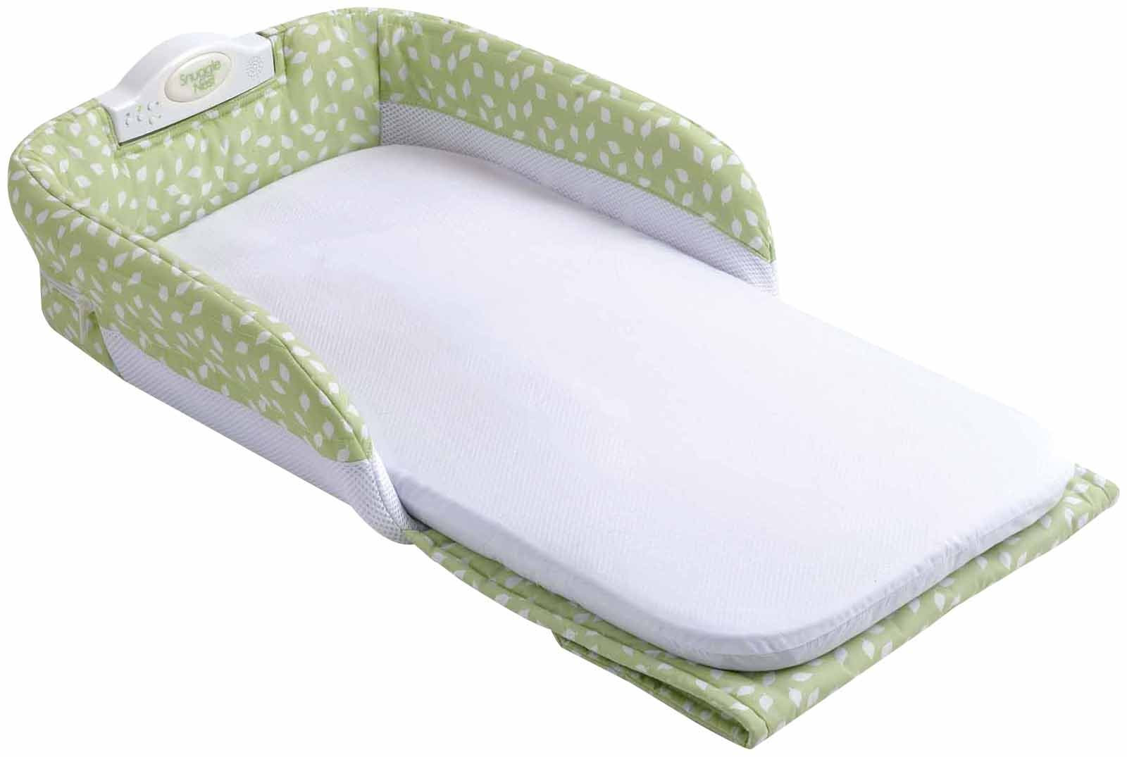 Baby Delight Snuggle Nest - Green Leaves - 1 ct.