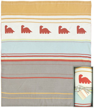 Weegoamigo Knitted Travel Blanket - Dino Convoy - 1 ct.