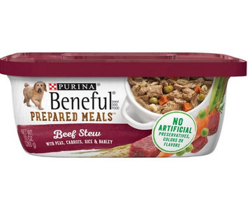 Beneful® Wet Dog Food Beef Stew With Peas Carrots Rice And Barley