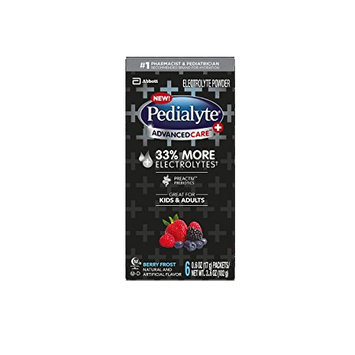 Pedialyte® AdvancedCare™ Plus Powder Packs Berry Frost