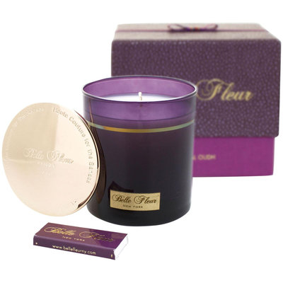 Belle Fleur Scented Candle - Imperial Oudh - 7.5 oz