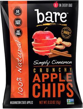 Bare Fruit All Natural Cinnamon Apple Chips - 0.53 oz
