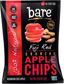 Bare Fruit - 100 Natural Crunchy Apple Chips Fuji Red - 0.53 oz.