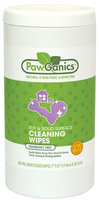 PawGanics Natural Toy & Solid Surface Cleaning Wipes