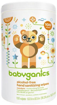 BabyGanics Hand Sanitizer Wipe 100 Count