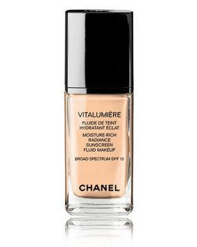 Chanel Vitalumiere Moisture-Rich Radiance Sunscreen Fluid Makeup SPF 15